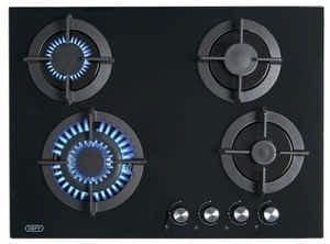 Gemini Gas On Glass Hob